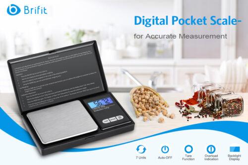 Mini 0.01-200g Digital Balance Jewlry Kitchen Food Weight Gram Gold Pocket Scale