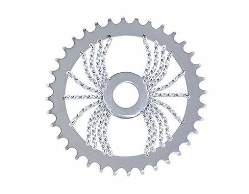 Bicycle LOWRIDER SPROCKET Spider Twisted  1//2 X 1//8 36t  CHROME BMX Show Bike