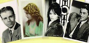 Vintage Original ☆ FILM STAR ☆ Postcards from around the World - List P1