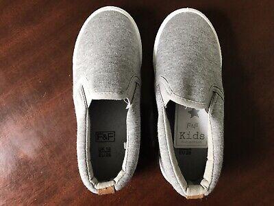 100% Vero Nuovo-ragazzi/bambini-grigio-smart/casual/scarpe-neonato Taglia 10/28-mostra Il Titolo Originale Squisita (In) Esecuzione