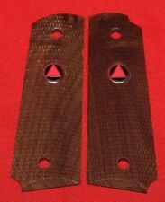 Colt Firearms Factory Full Size Delta Elite 1911 wood Grips