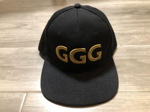 GGG Gennady Golovkin Triple G Snapback Hat Cap RAR