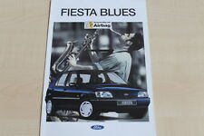 160063) Ford Fiesta - Blues - Prospekt 07/1994