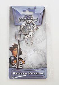 Disney Kingdom Hearts Sora Sword Pewter Keyring