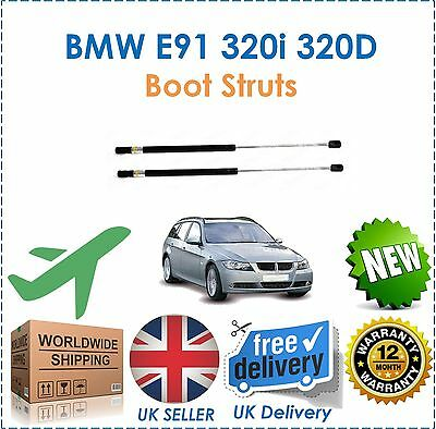 For E91 320i 320D XD Estate Rear Tailgate Boot Spring Struts Gas Shock Tail Gate