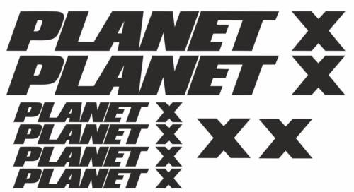 Planet X Replacement Vinyl Decal Graphic Sticker Set MTB DH XC Bike
