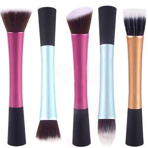 Pro-Makeup-Cosmetic-Stipple-Powder-Blush-Foundation-Eyeshadow-Brush-Colorful