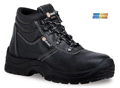 Scarpe Antinfortunistiche Uomo Donna Alba&n K03 Scarpe da lavoro S1P alte nero | eBay