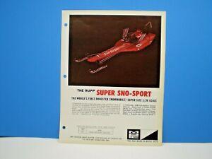 MPC-034-RUPP-SUPER-SNO-SPORT-034-Original-1970-color-single-sided-dealer-flyer