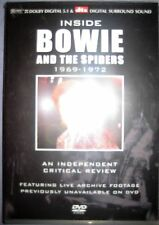 NEU + OVP DVD Inside David Bowie And The Spiders 1969 - 1972 --- running time 72