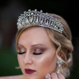 Vintage-Wedding-Bridal-Pearl-Crown-Tiara-Princess-Hair-Accessories-Jewelry-Gift