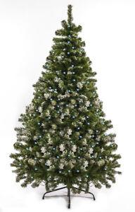 Tannenbaum 120 Cm.Details Zu Christbaum Weihnachtsbaum Künstlich 120 Cm Künstlicher Tannenbaum Schnee Mit Led