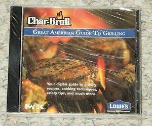 Char-Broil-Great-American-Guide-To-Grilling-CD-ROM-Dozens-of-Recipes