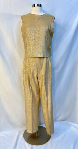 Early 1960s Majestic Brand 2 Pc Pant Suit