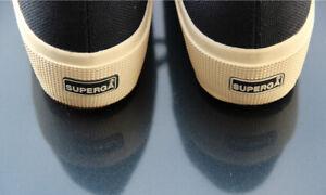 Superga-Womens-Blue-Navy-Fashion-Sneakers-Women-039-s-Shoes-UK51-2-US8-EU39