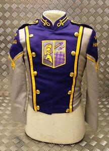 Da Uomo Vintage Cappotto Militare Giacca BAND FESTIVAL Tunica Mod Indie FANCY DRESS