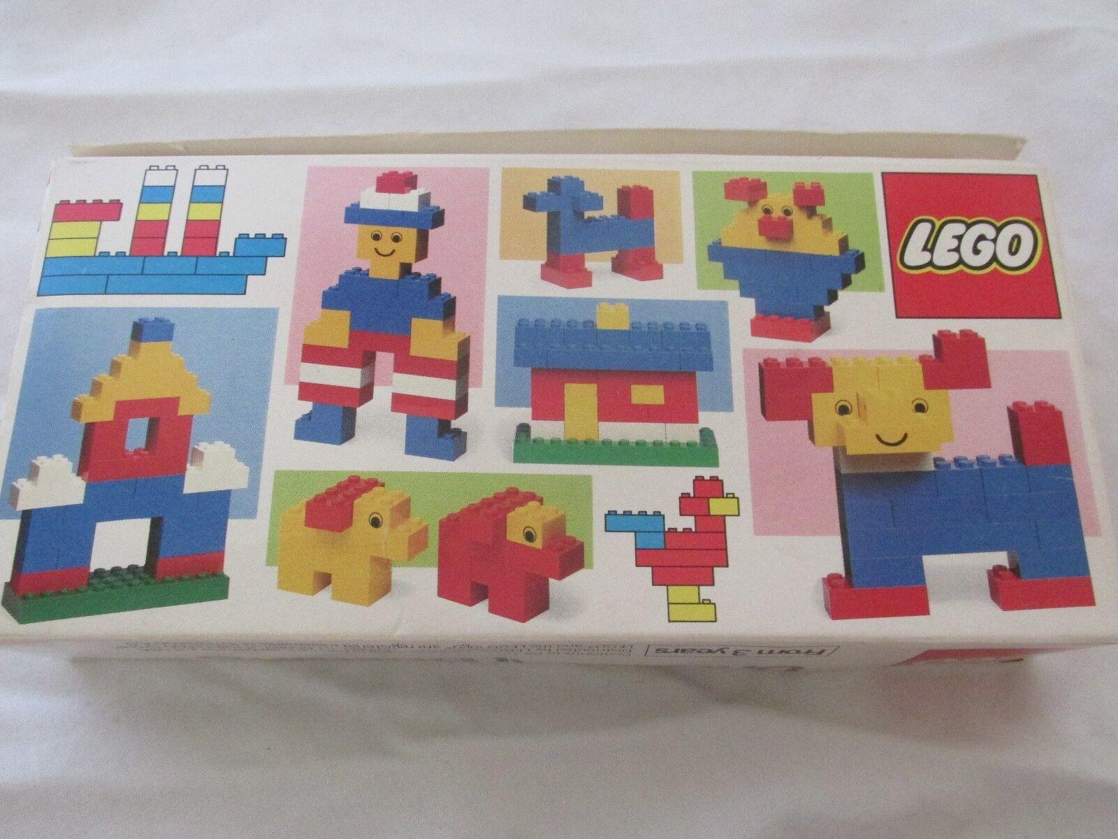 Brand New in Box Vintage 1983 Lego Universal Building Building Building Set Model No. 1911 34 Pcs. 1f4629