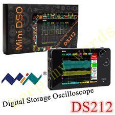DS212 Smart LCD Digital Oscilloscope USB Interface 1MHz 10MSa/s Coupling AC/DC