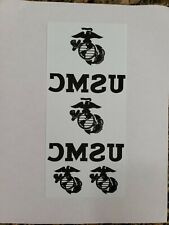 Usmc Transfer Paper Iron On 1 Sheets With 2 Utility Iron Ons Amp 2 Egas For Cover