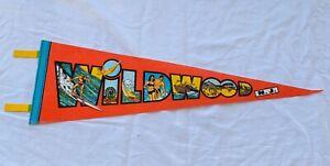 Wildwood-NJ-Pennant-Felt-Banner-vintage-boardwalk-souvenir-surfing-beach-sailing