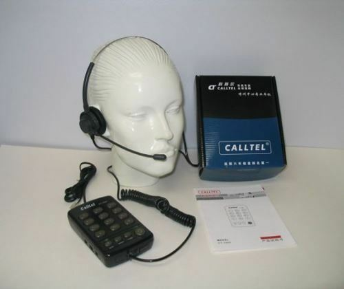 Dial Key Pad with MUTE /& REDIAL for Call Center CallTel CT-1000 Headset Phone