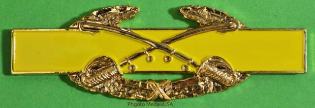 Combat Cavalry Badge Award 3  inch CAB Army Pin