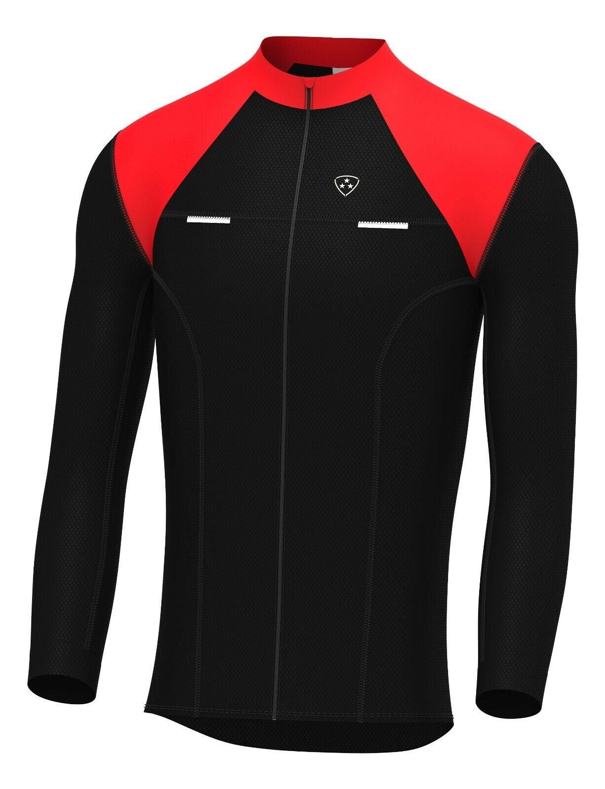 DHERA Mens Thermodream Cycling Jersey Full Sleeve Thermal Roubaix Cycling  Jacket | eBay