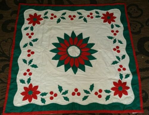 Christmas Quilt Throw 44x44