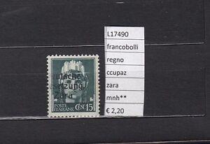 FRANCOBOLLI-ITALIA-REGNO-OCCUPAZIONI-ZARA-MNH-L17490