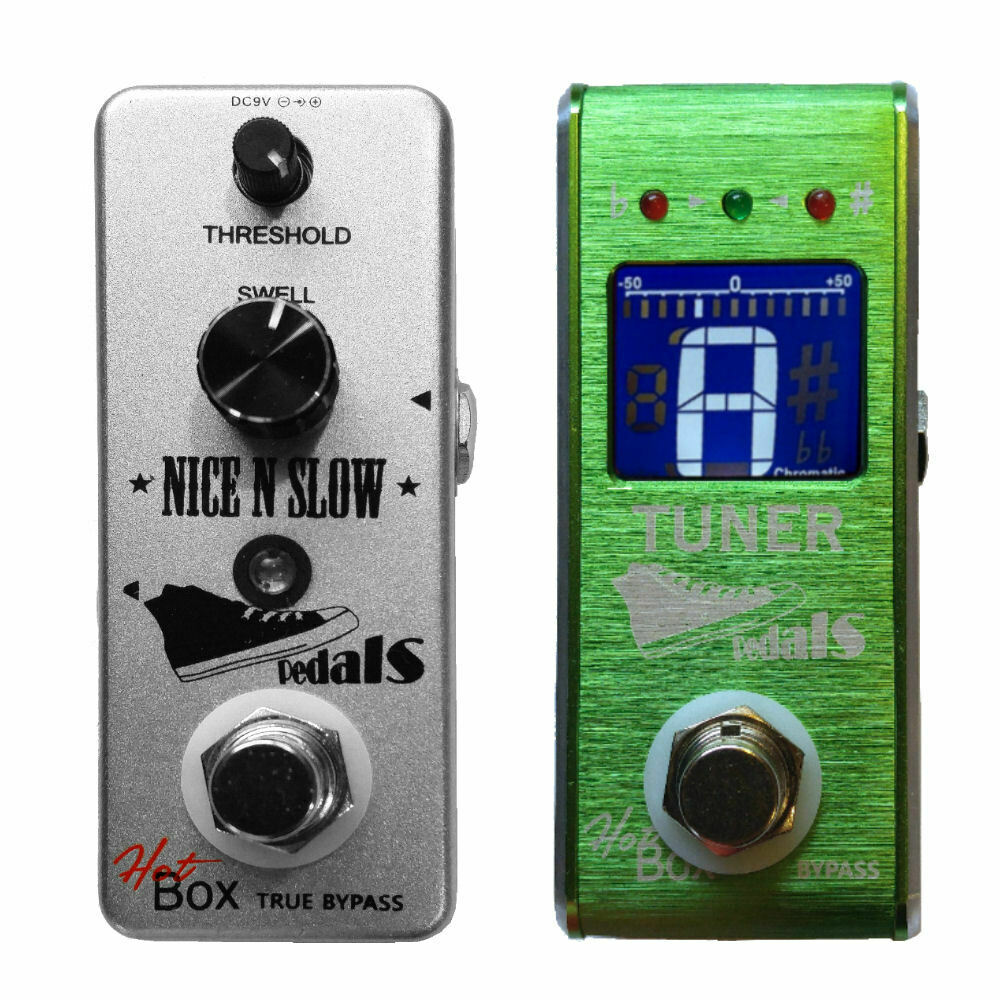Hot Box Pedals Nice N Slow Attitude Series Vol Swells Type +HB Tuner GuitarPedal