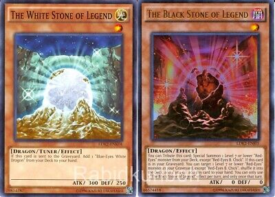 ultra rare Yugioh!! Near Mint! The Black Stone of Legend ldk2-enj05