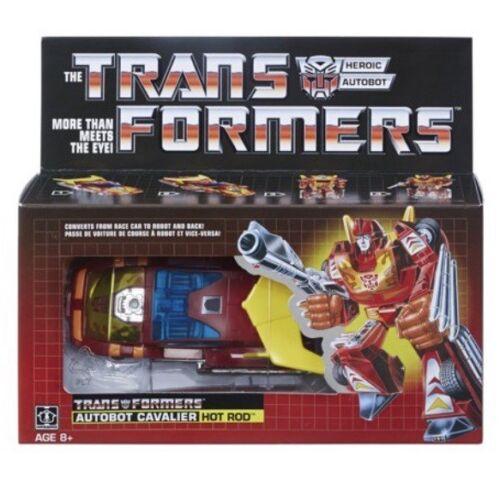Transformers Hot Rod G1 Autobot Reissue 2018 Walmart Exclusive Vintage Figure