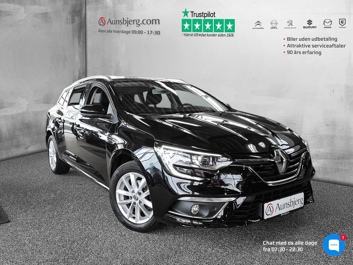 Renault Megane IV 1,5 dCi 110 Zen Sport Tourer EDC 5d - 182.500 kr.