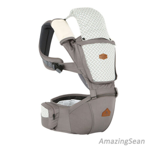 Hipseat Carrier I-Angel ORGANIC COLLABO Hipseat Hip Seat Organic Baby Supply