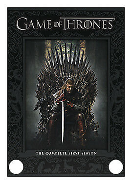 1 of 1 - Game of Thrones Season 1 DVD 2012 Cheap Fast Free Post UK