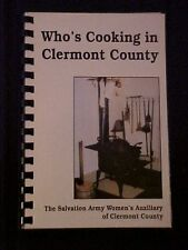 Who's Cooking in Clermont County OH Salvation Army Women's Auxiliary of Clermont