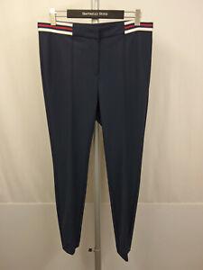 159-NEU-RAFFAELO-ROSSI-GENJA-Stretch-Hose-Gr-44-Pants-Blau