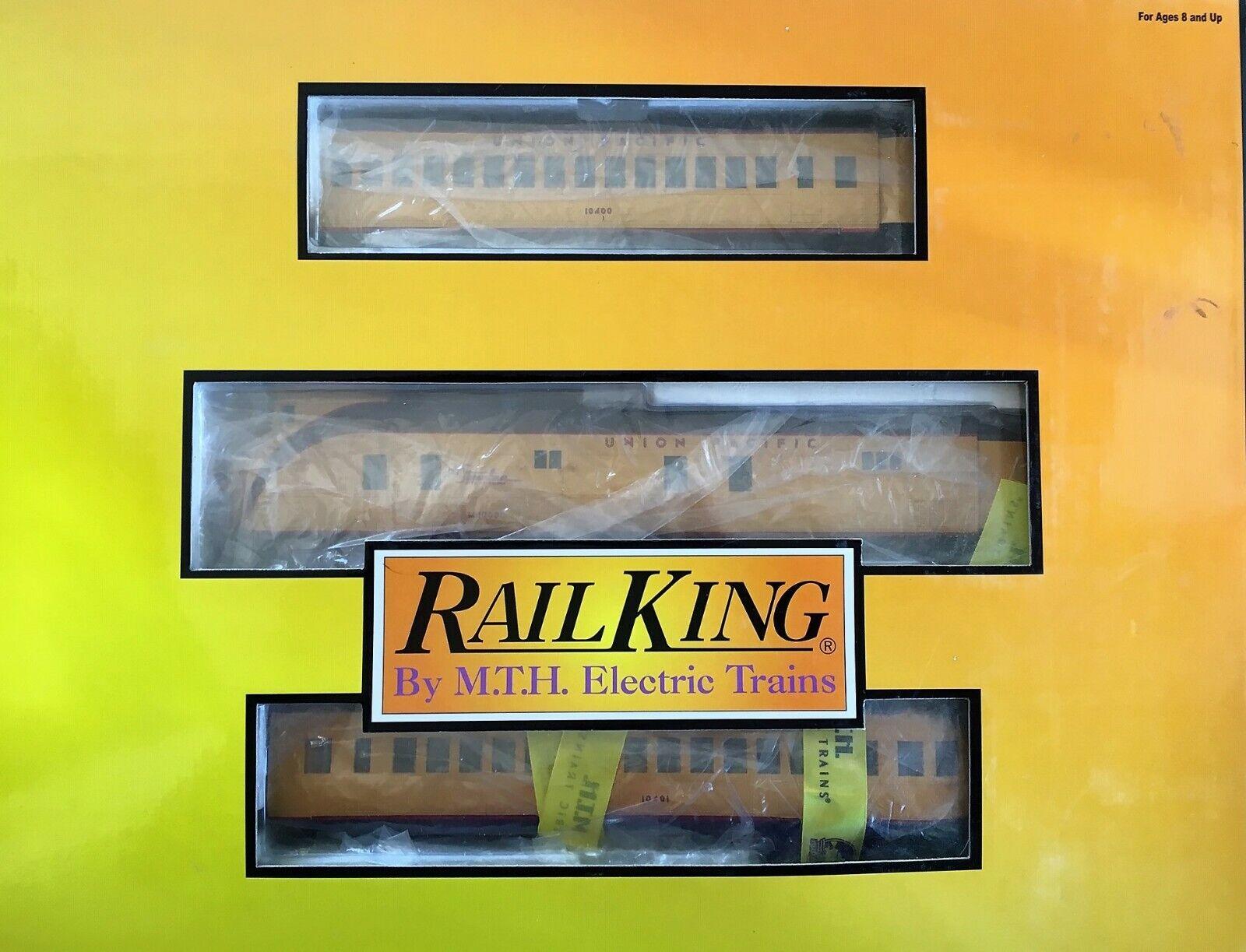 MTH RAIL re 3021970 Union Pacific M10000 Set passeggero DIESEL OTTIME COND