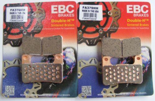 EBC Sintered FRONT Disc Brake Pads (FA379HH) fits Suzuki GSXR600 (2004 to 2010)