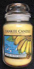Yankee Candle CANARY ISLAND BANANA 22oz Jar Rare