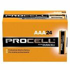 Duracell Procell Alkaline Battery AAA Cell 1.5v Disposable - 4 Boxes of 24