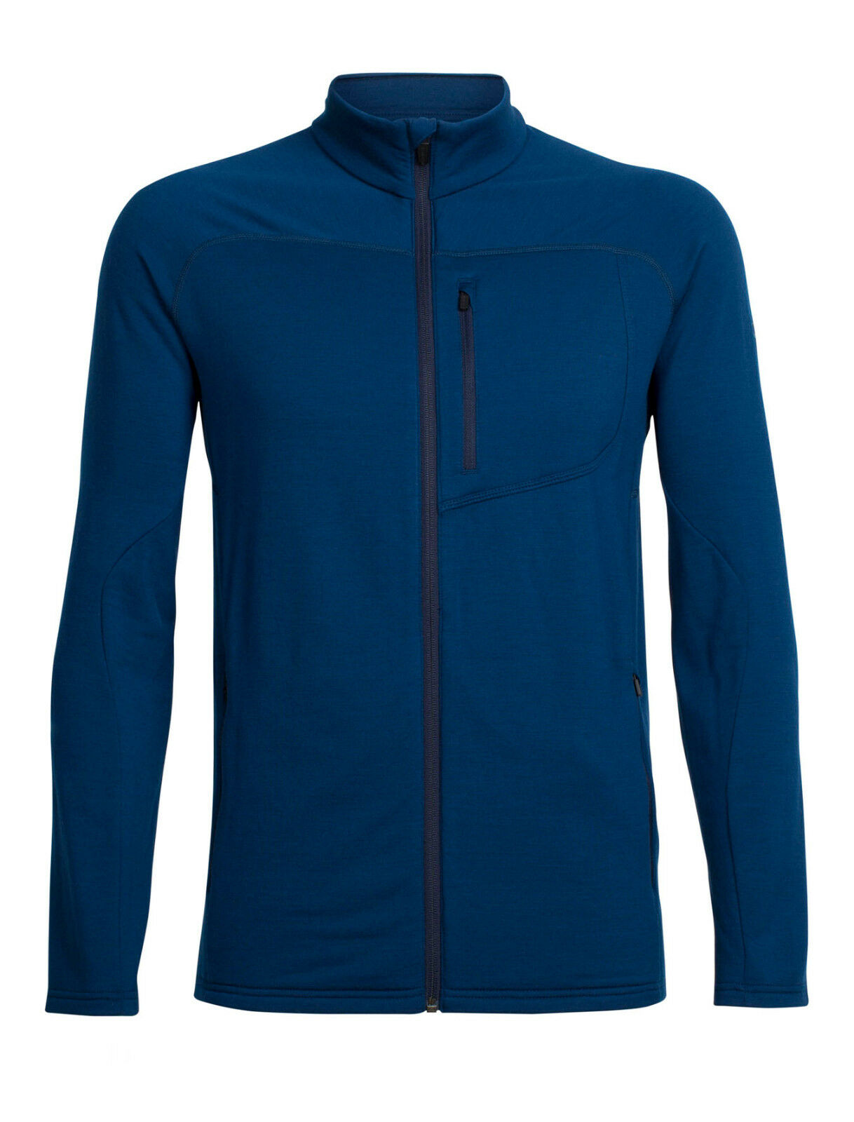 Icebreakerrealfleece MT Elliot Long Sleeve Zip Uomo  200 gm²
