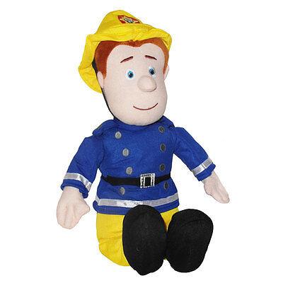 "Fireman Sam - 12"" Sitting Plush Fireman Sam Soft Toy - *BRAND NEW*"