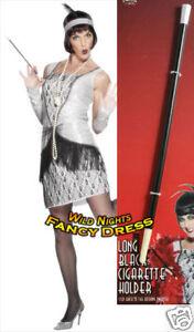 FANCY-DRESS-ACCESSORIES-20-039-S-LONG-CIGARETTE-HOLDER