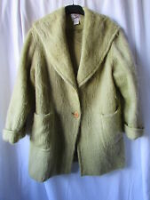 manteau maffecco laine vert anis 44