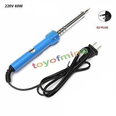 60W/50W 220V Electric Temperature Welding Solder Soldering Iron Tool Pencil Gun