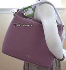 NWT Kate Spade Orchard Street Natalya Shoulder Bag Satchel Rum Raisin MSRP $348