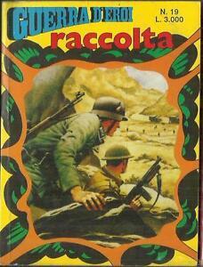 RACCOLTA-GUERRA-D-039-EROI-Nuova-Serie-n-19-42-43-Garden-1988