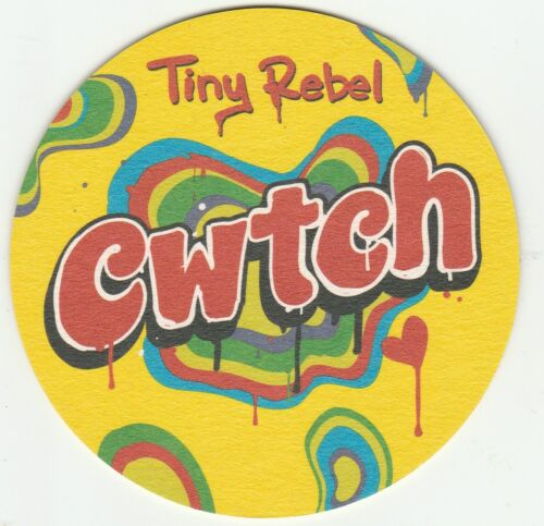 Cat No 009 2019 CWTCH - UNUSED MAT - TINY REBEL BREWERY
