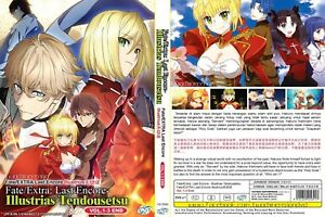 ANIME-DVD-Fate-Extra-Last-Encore-Illustrias-Tendousetsu-1-3End-FREE-SHIP-SKU3